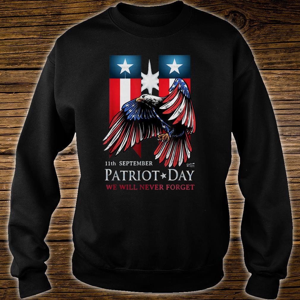 11th September Patriot Day Never Forget American Flag Shirt sweater