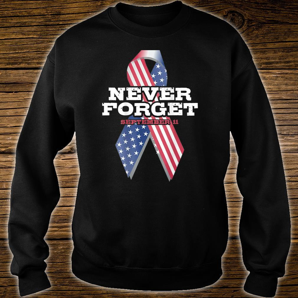 American Flag Never Forget Patriot Day Shirt sweater