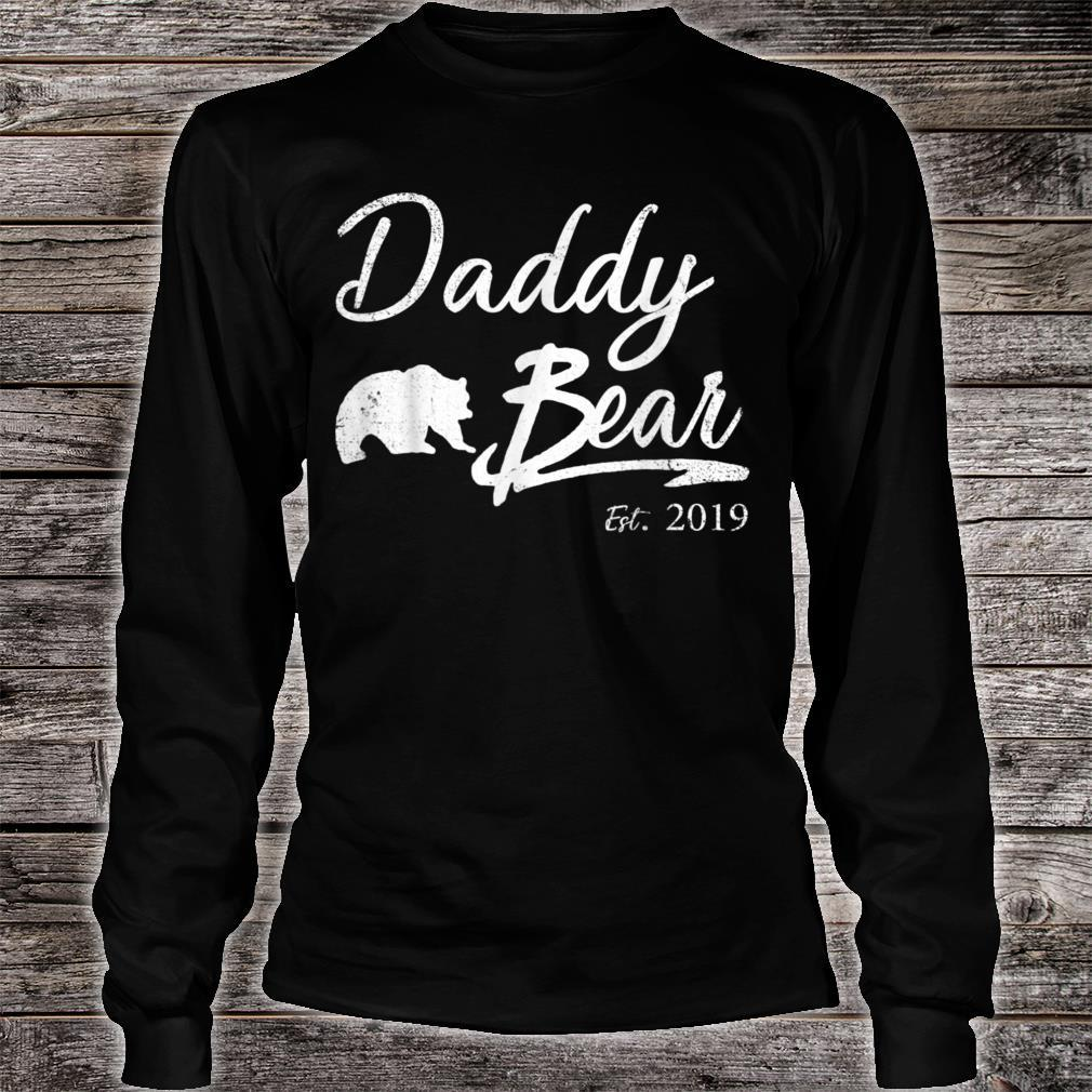 Daddy Bear Est 2019 Shirt Shirt For Father Day Shirt long sleeved