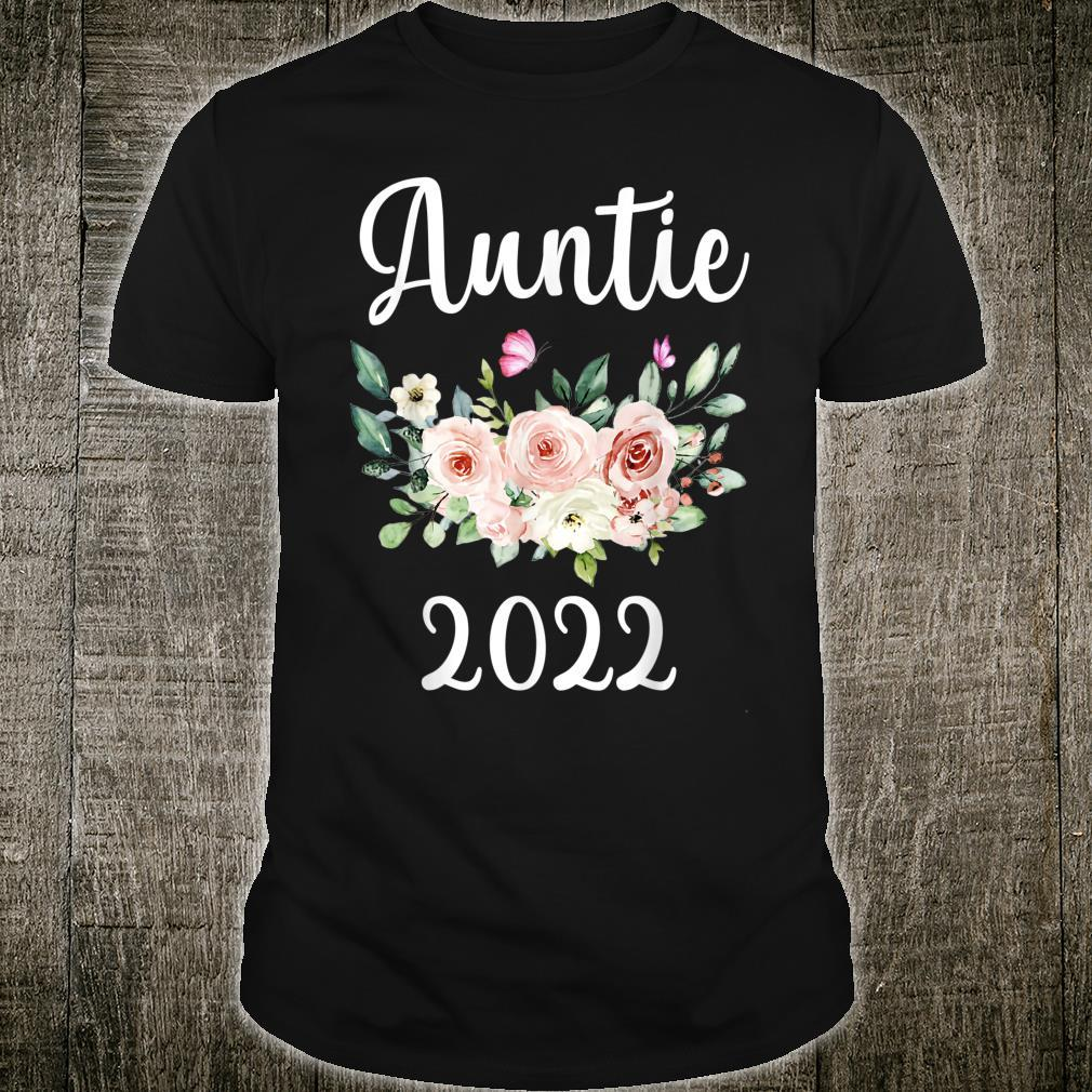 Floral Auntie 2022 Mother's Day Shirt