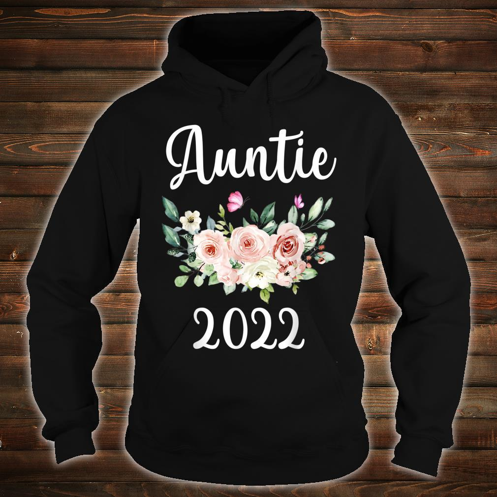 Floral Auntie 2022 Mother's Day Shirt hoodie