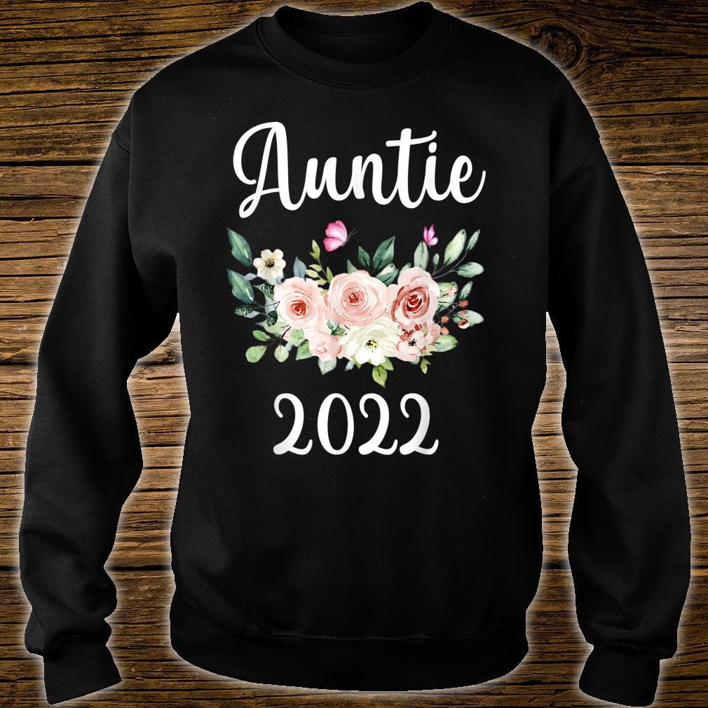 Floral Auntie 2022 Mother's Day Shirt sweater