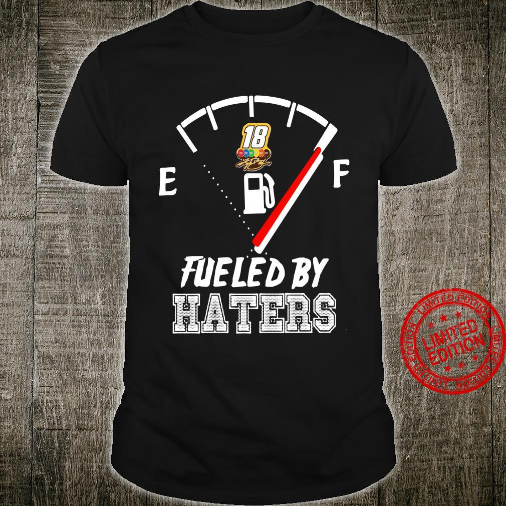 Kyle Busch fuled by haters shirt