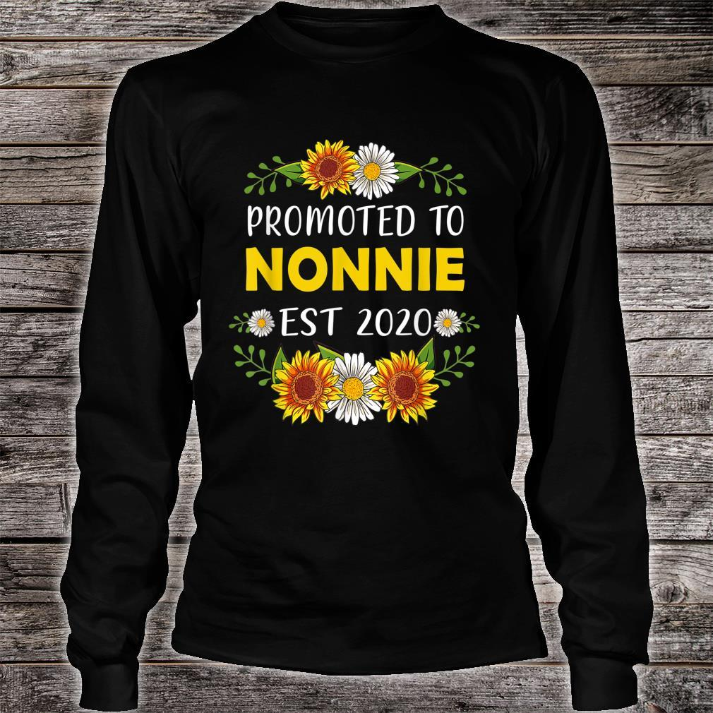 Promoted To Nonnie 2022 Mother's Day For New Nonnie Shirt long sleeved