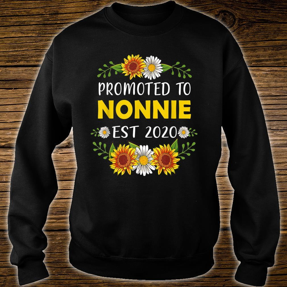 Promoted To Nonnie 2022 Mother's Day For New Nonnie Shirt sweater