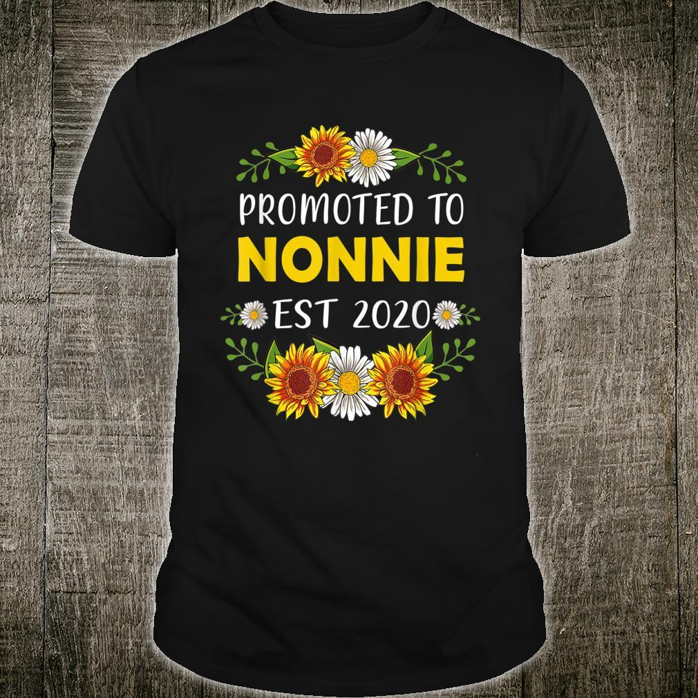 Promoted To Nonnie 2022 Mother's Day For New Nonnie Shirt